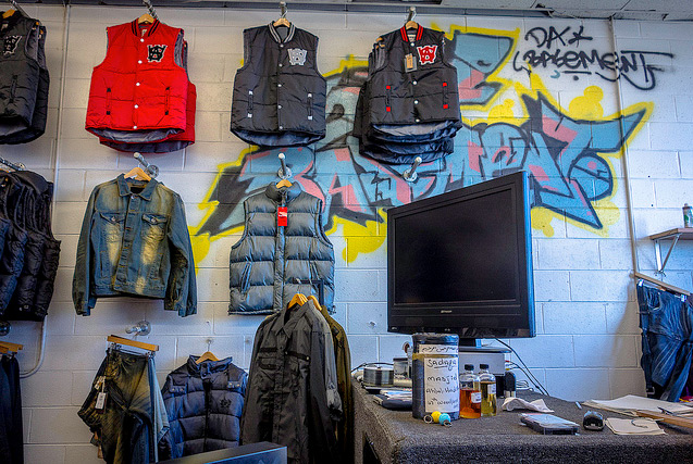 Da Basement store display and check-out | Photo: Theresa Stigale