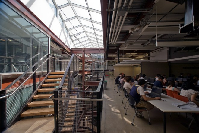 Higher learning: walls aren't being broken down at Drexel's new URBN Center—they're not even there | Photo: Bradley Maule