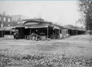 Bainbridge Market 1915   Photo: City of Philadelphia Dept. of Records