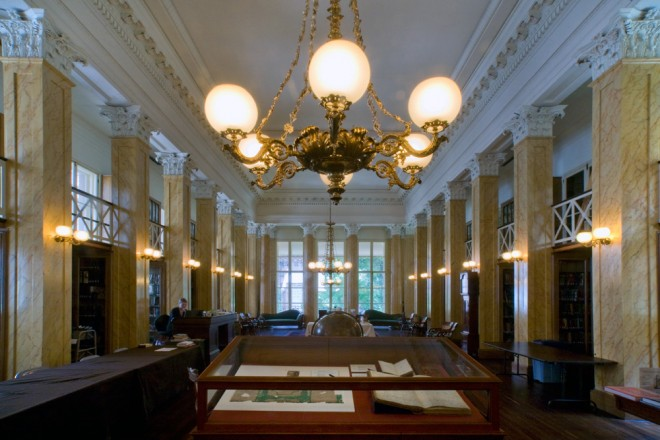 Members Reading Room at the Athenaeum | Photo: Bradley Maule