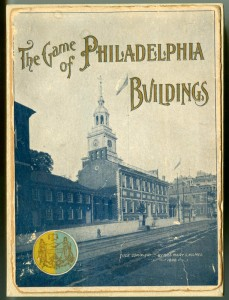 On back order with Hasbro: early 20th century flash card game challenging you to learn Philadelphia architecture | Image: Library Company of Philadelphia