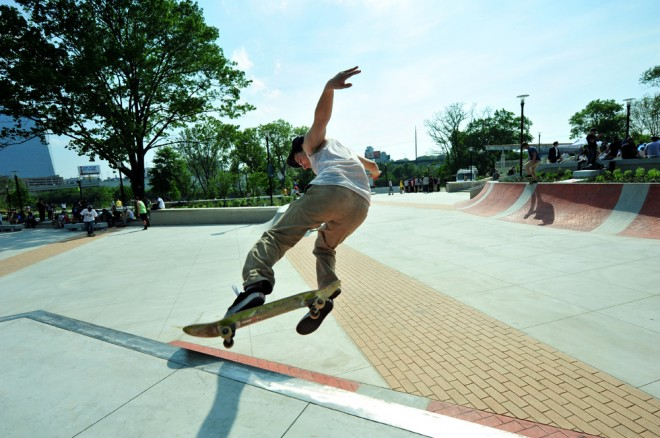 Paine's Park opening | Photo: Jessie Fox