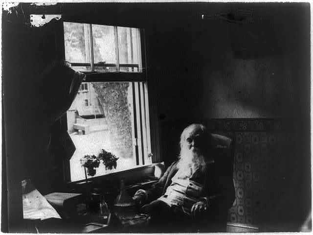 This was before the nude photos. Photo of Walt Whitman in Camden by Thomas Eakins | Image: Library of Congress