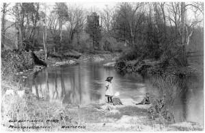 Baptist Rock, circa 1910.