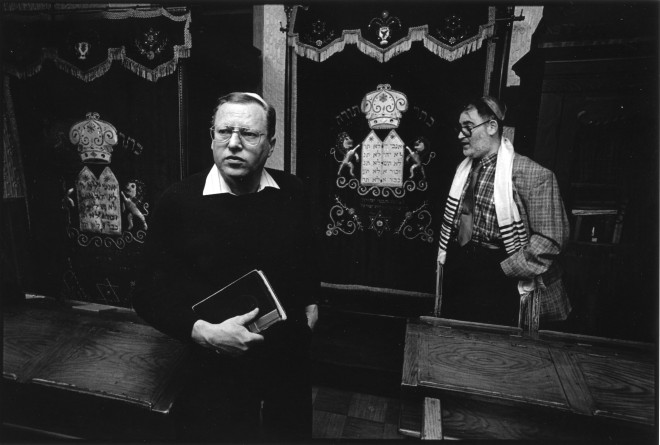 Congregation Shivtei Yeshuron, late 90s | Photo: Harvey Finkle