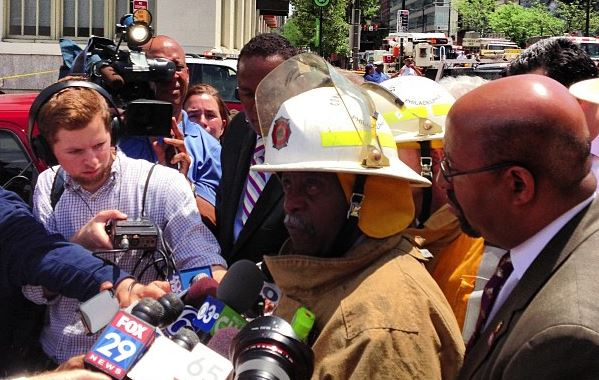 Fire commissioner Ayers | Photo: Bradley Maule