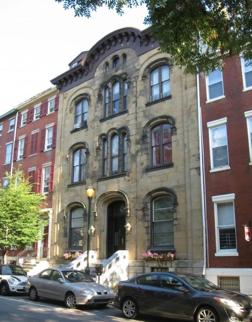 William Welsh House, 1122-24 Spruce Street | Photo: GroJLart