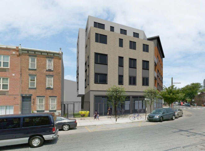 A view anew on Grays Ferry Avenue   Image courtesy of Plumbob LLC & 2300 South Street Association LP