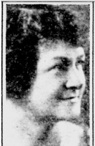 Mrs. Clara Barnes Abbott, music maven of Philadelphia.