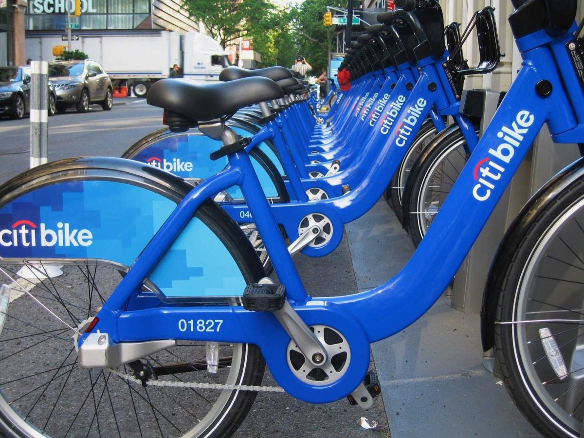 Citi Bike in NYC | photo credit: businessinsider.com