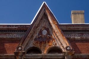 Faded glory: Wharton Hall | Photo: Bradley Maule