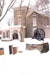 Merrick Hall in the snow | Photo courtesy of Northern Children's Services