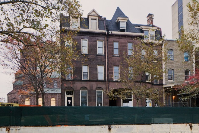 Brownstones to be demolished | Photo: Peter Woodall