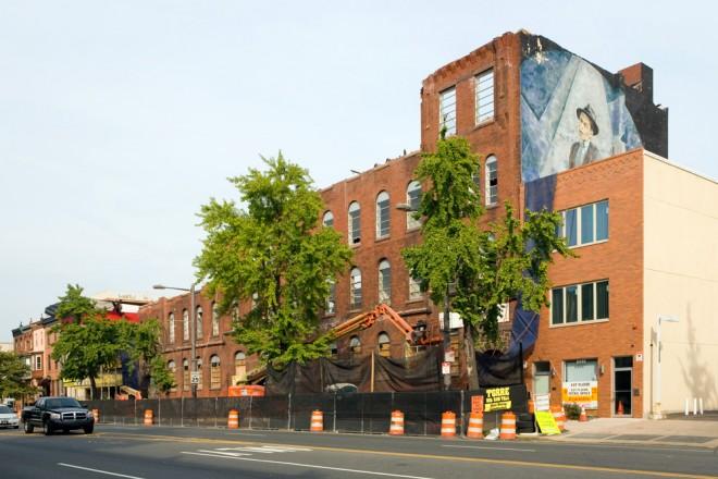 Broad Street Armory, October 2013 | Photo: Bradley Maule