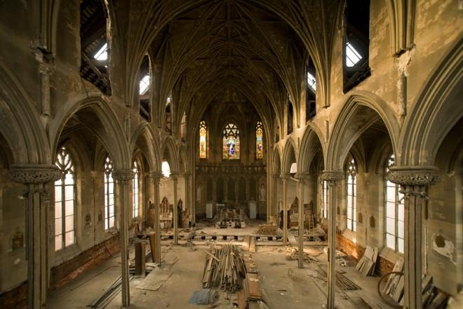 Circa-1847 Church of the Assumption's interior, photographed circa-2013   Photo: Bradley Maule