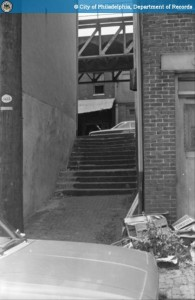 Wood Street Steps, 1960s   Image: PhillyHistory.org