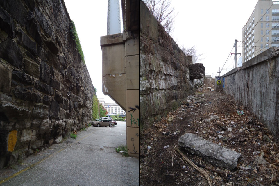 Tracing The Chinese Wall In Center City Hidden City