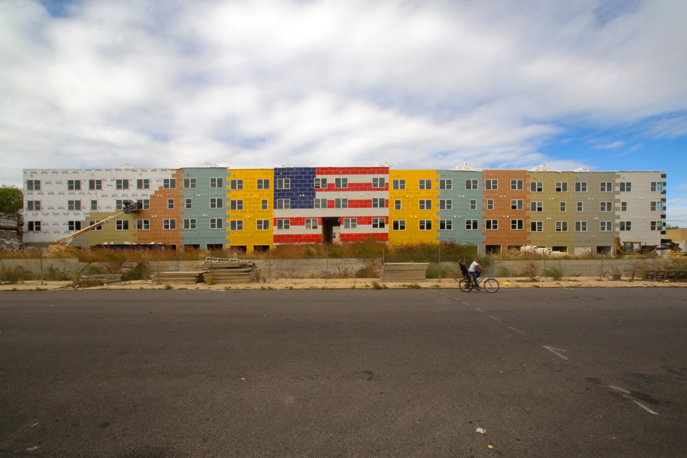 New Apartments, Old Glory In West Philadelphia