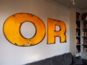 Norge letters O R | Photo: Nathaniel Popkin