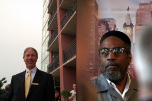 Carl Dranoff, left, and Kenny Gamble, right, at the opening of Symphony House, 2007 | Photos: Bradley Maule