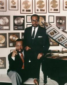 Gamble & Huff, circa 1970s | Philadelphia International Records press photo