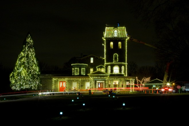 Getting ready for the holidays at the Woodmere | Photo: Bradley Maule