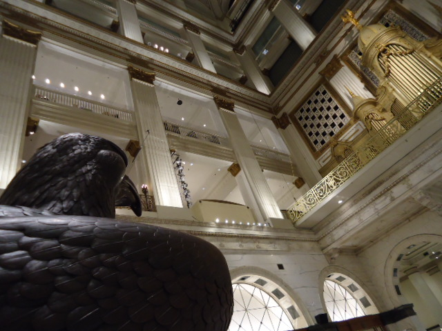 Mention Wanamaker's and the two synonymous features that come to mind are the eagle and the organ | Photo: Shadowbat