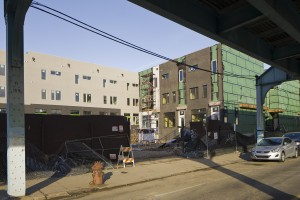 JKR Partners' residential development, Front St. just south of Girard | Photo: Peter Woodall
