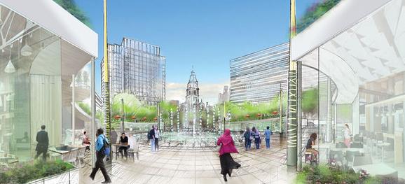 Rappaport LOVE Park rendering