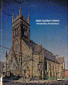 Color photo, circa-1970s, of St. Agatha's Church | Photo: Archdiocese of Philadelphia