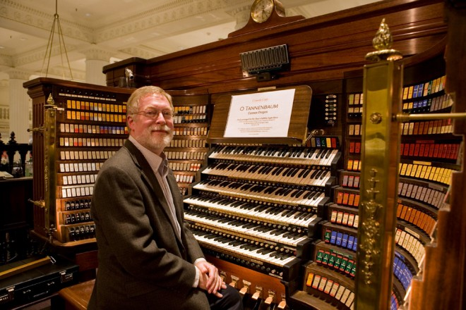 Wesley Parrott, Curtis graduate, occasional Wanamaker Organist | Photo: Bradley Maule