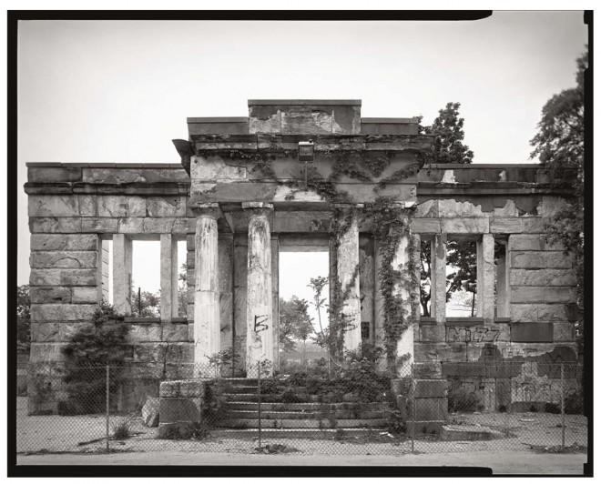 Pennsylvania Hospital for the Insane, 44th and Market Streets. Demolished 2004 | Photo: Vincent Feldman