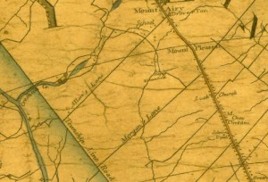 Surveyor John Hills agrees: his 1808 map labels Allen's Lane | Map via PhilaGeoHistory.org