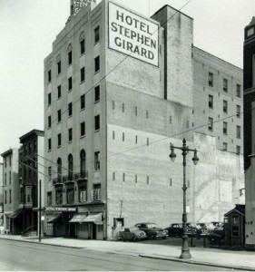 1949, in its last days as the Stephen Girard | Source: James E. Dillion Collection of the Athenaeum of Philadelphia