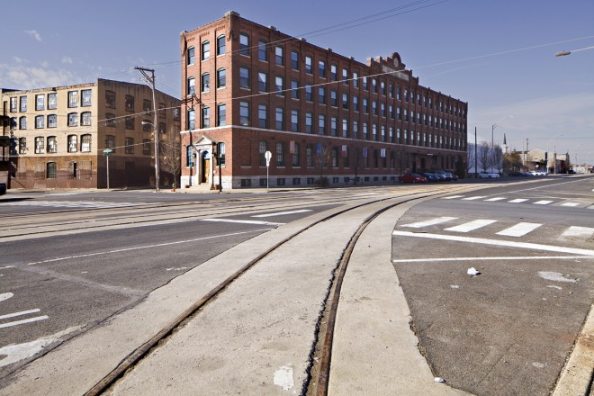 The Crane Arts Building has become a hub of activity along American Street   Photo: Peter Woodall
