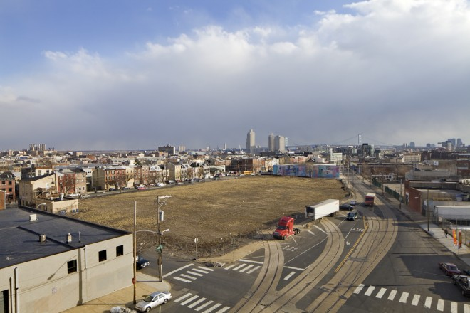 Site of the proposed Soko Lofts development | Photo: Peter Woodall