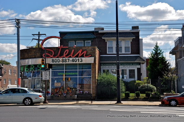 Stein-Your-Florist-Philadelphia-PA-Neon-Exterior-Side-RetroRoadmap