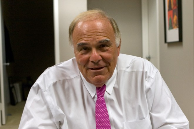 Former Mayor of Philadelphia and Governor of Pennsylvania Ed Rendell in his office | Photo: Bradley Maule