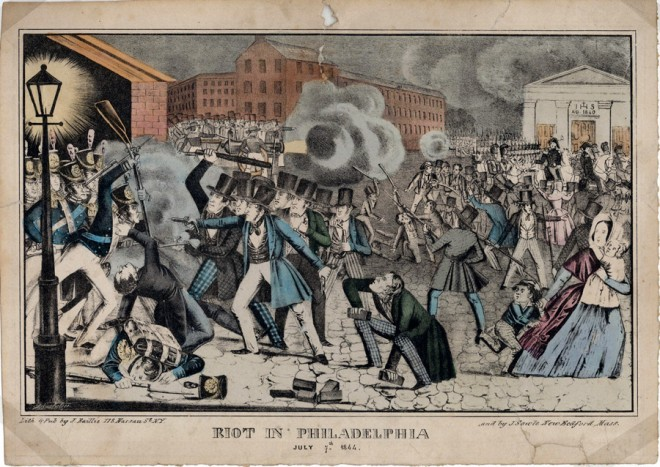 """Riot in Kensington, July 7, 1844"" 