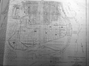 Proposed beltline railway, 1914 | Source: Fairmount Park Archives