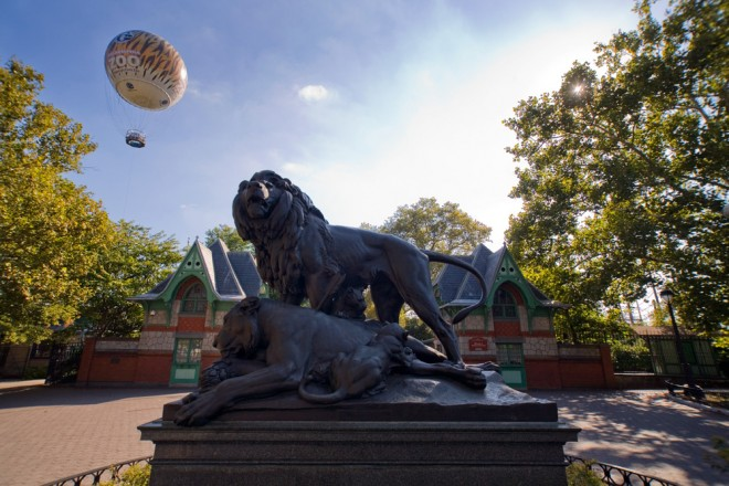 The Zoo Balloon has joined The Lioness and Frank Furness in the afterlife | Photo: Bradley Maule