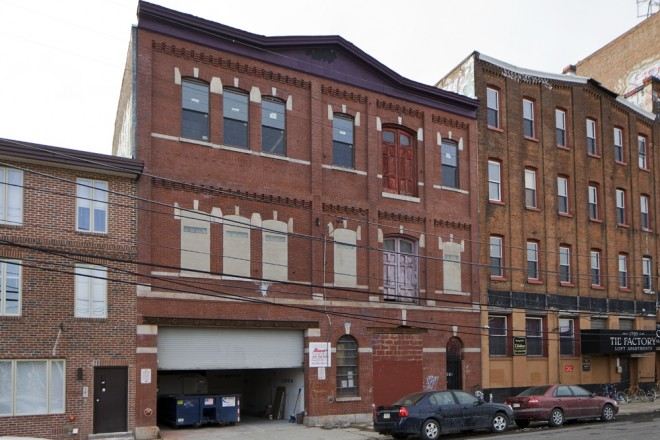 St. Benjamin nanobrewery under construction , 5th and Cecil B. Moore | Photo: Peter Woodall
