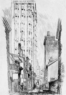 From Our Philadelphia (1914), by Elizabeth Pennell (Illustrated by Joseph Pennell)