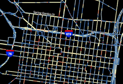 Detail of crash map | ThisOldCity.org
