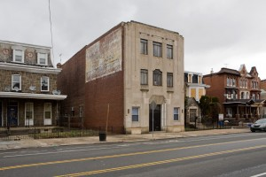Who knew? A funeral home with a ghost (sign)   Photo: Bradley Maule