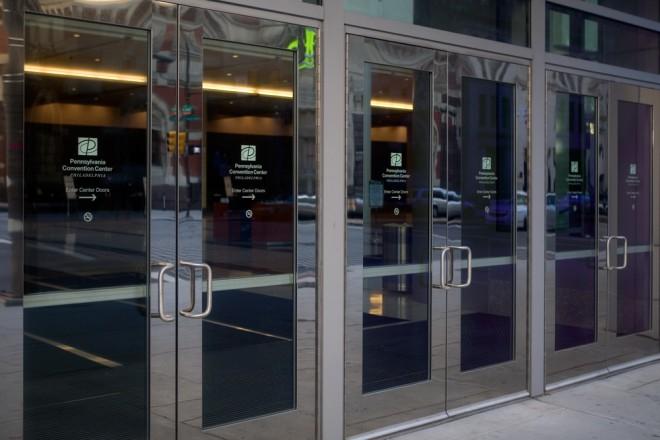 These doors? Don't use them. | Photo: Bradley Maule