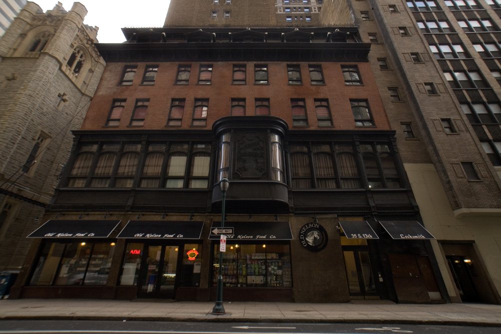 Ticonderoga To Toupees: Binder's Building On 13th Street