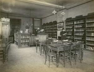 Evening Home Branch of the Free Library of Philadelphia | Source: Free Library of Philadelphia Print and Picture Collection