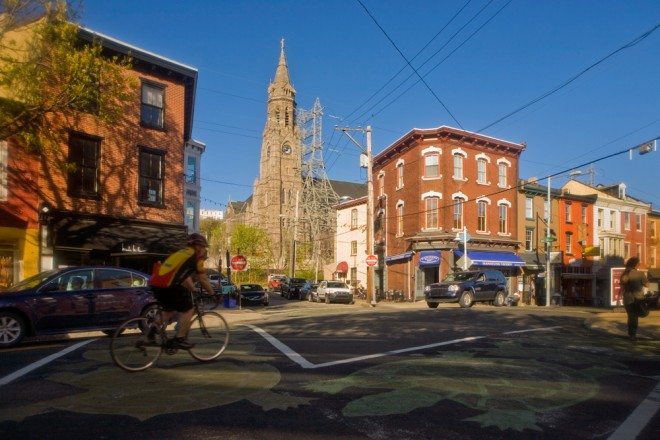 St. John the Baptist: as Manayunk as Main Street and cycling | Photo: Bradley Maule