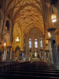 The gorgeous interior of St. John the Baptist | Photo: Christopher Mote